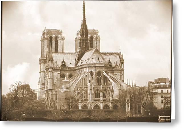 A Walk Through Paris 25 Greeting Card by Mike McGlothlen