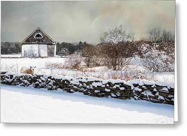 Stonewall Greeting Cards - A Warm Spot Greeting Card by Robin-lee Vieira