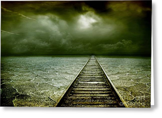 A Way Out Greeting Card by Photodream Art