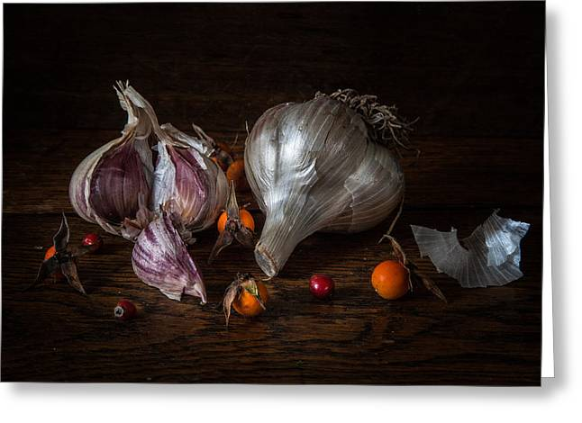 Food Photography Greeting Cards - A Winters Cure Greeting Card by Constance Fein Harding