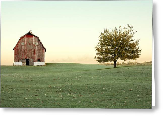 A Wisconsin Postcard Greeting Card by Todd Klassy