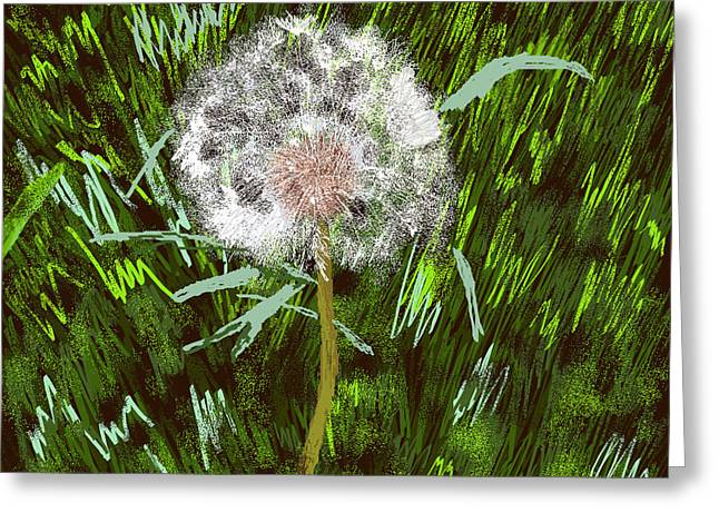 Urge Greeting Cards - A Wish From the Garden Greeting Card by Anthony Nunez