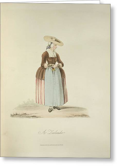 A Zealander Greeting Card by British Library