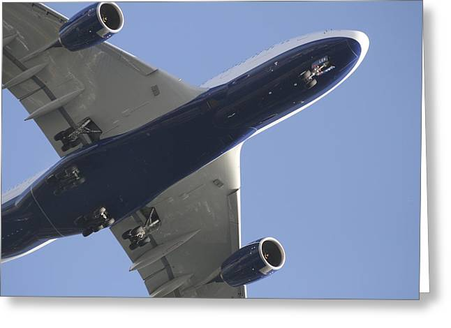 A380 Greeting Cards - A380 Greeting Card by Thomas Glover