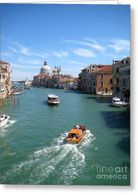 Frederick Luff Greeting Cards - Aah Venezia Greeting Card by Europe  Travel Gallery