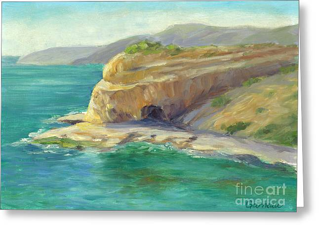 Abalone Greeting Cards - Abalone Cove Greeting Card by Catherine Garneau