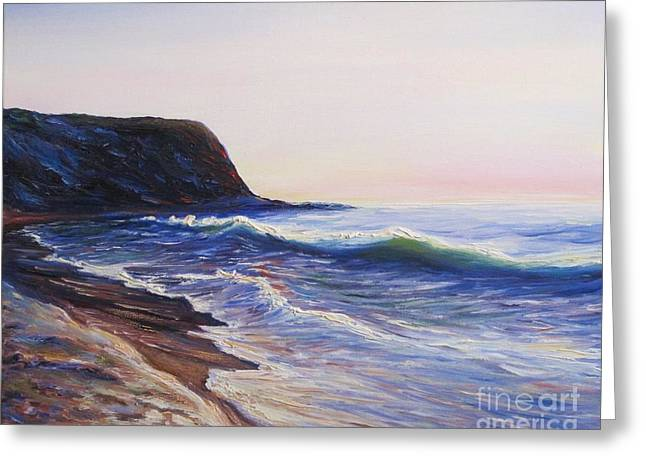 Frederick Luff Greeting Cards - Abalone Cove Greeting Card by Frederick  Luff