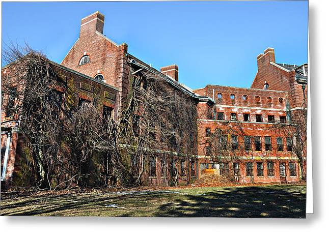 Abandoned Asylum Greeting Card by Bill Cannon