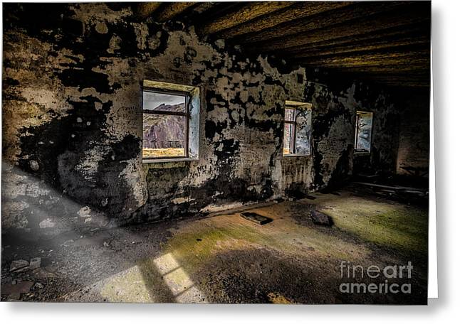 Abandoned Building Greeting Cards - Abandoned Building Greeting Card by Adrian Evans