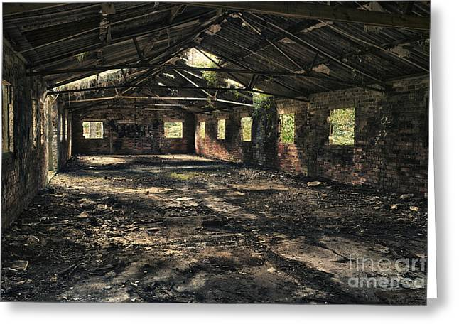 Abandoned Building Greeting Cards - Abandoned Greeting Card by Amanda And Christopher Elwell