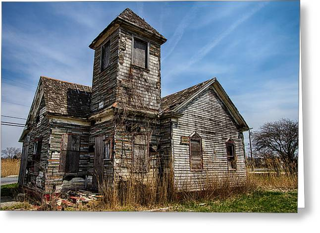 Outdoors Greeting Cards - Abandoned church 2 Greeting Card by Robert Wirth