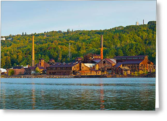 Upper Peninsula Greeting Cards - Abandoned Copper Greeting Card by Panoramic Images
