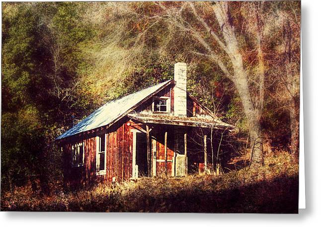 Kinkade Greeting Cards - Abandoned Dreams Greeting Card by Melanie Lankford Photography