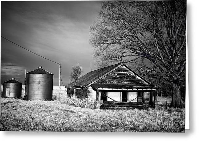 Fine Photographer Digital Greeting Cards - Abandoned Farm in Rural North Carolina Greeting Card by Dan Carmichael