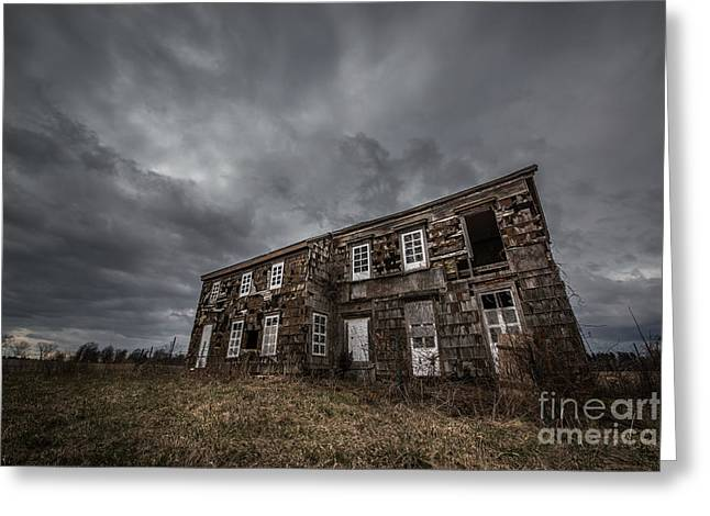 Abandoned History 2 Greeting Card by Michael Ver Sprill
