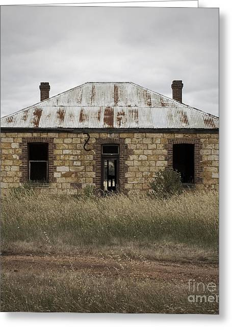 Abandoned Home Greeting Card by Kelly Jones