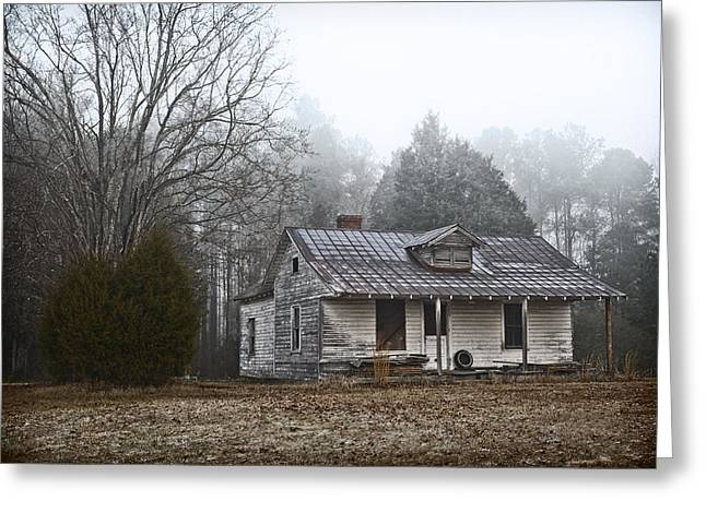 Abandoned Homes Greeting Cards - Abandoned Home Greeting Card by Patrick M Lynch