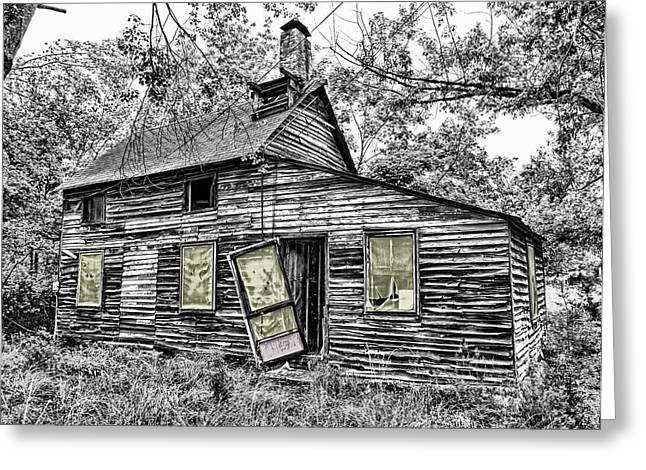 Abandoned Houses Greeting Cards - Abandoned House Greeting Card by Mountain Dreams