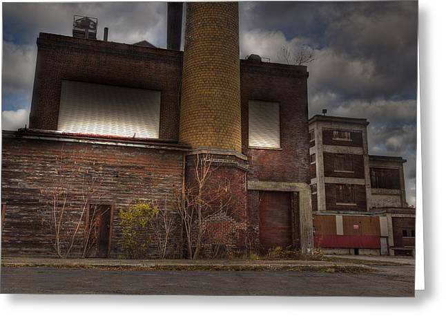 Abandoned In Hdr 2 Greeting Card by Tim Buisman