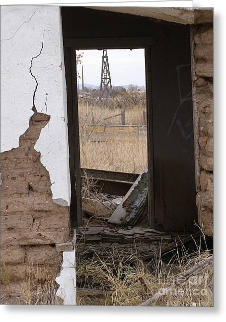 Lela Becker Greeting Cards - Abandoned in Texas Greeting Card by LeLa Becker