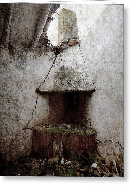 Abandoned Little House 2 Greeting Card by RicardMN Photography