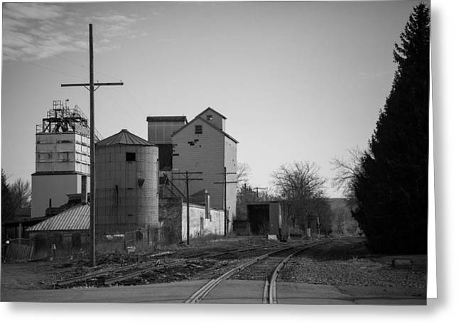Rail Siding Greeting Cards - Abandoned Mill Greeting Card by Richard LaVere