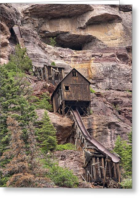 Best Seller Greeting Cards - Abandoned Mine Greeting Card by Melany Sarafis