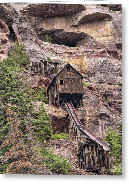 Mancave Photos Greeting Cards - Abandoned Mine Greeting Card by Melany Sarafis