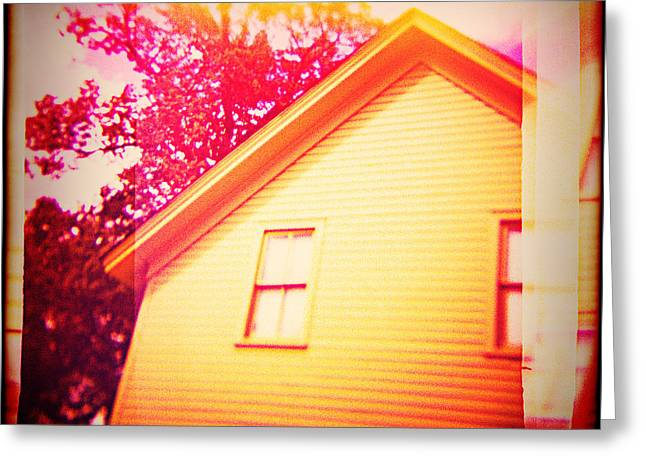 Ranch Home Greeting Cards - Abandoned Property Greeting Card by YoPedro