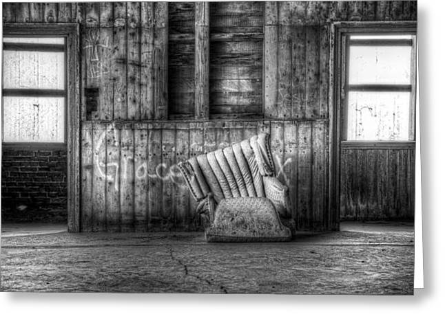 Cushion Photographs Greeting Cards - Grace Greeting Card by Scott Norris