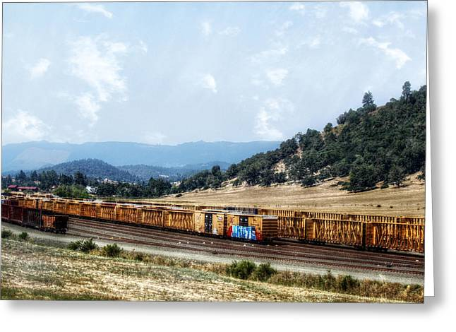 Melanie Lankford Photography Greeting Cards - Abandoned Transportation Greeting Card by Melanie  Lankford Photography