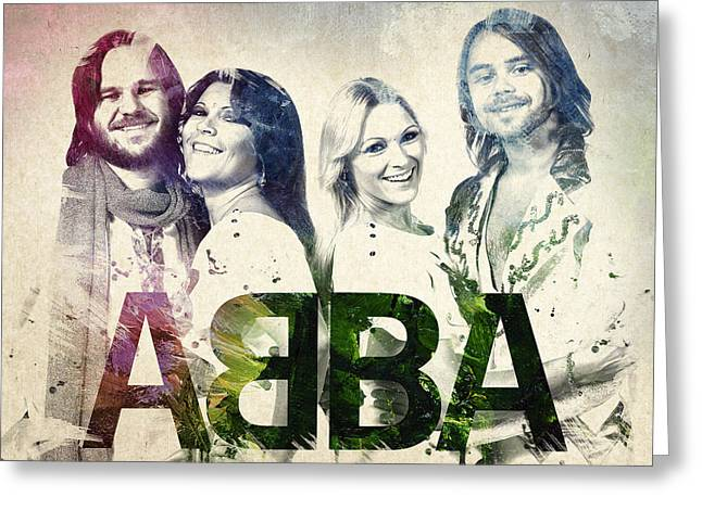 People Digital Greeting Cards - Abba Greeting Card by Aged Pixel