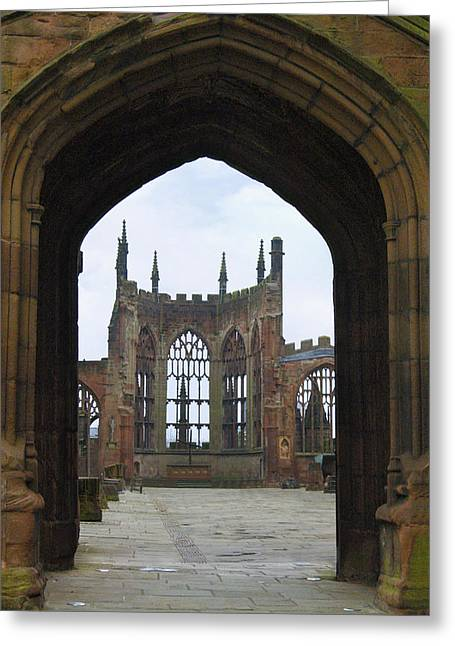 Scotland Greeting Cards - Abbey Ruin - Scotland Greeting Card by Mike McGlothlen