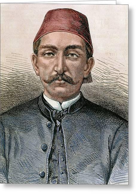 Abdul Hamid II (1842-1918 Greeting Card by Prisma Archivo