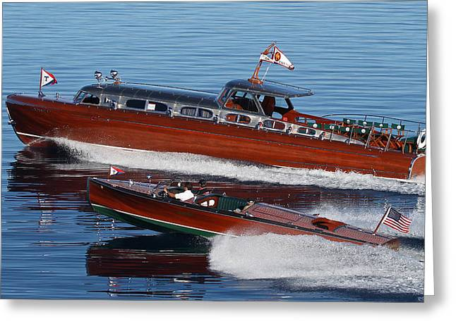 Mahogany Red Greeting Cards - Abeam of Thunderbird Greeting Card by Steven Lapkin
