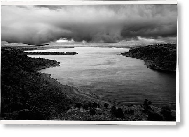 Pause Greeting Cards - Abiquiu Lake New Mexico Nm                    Greeting Card by Mark Goebel