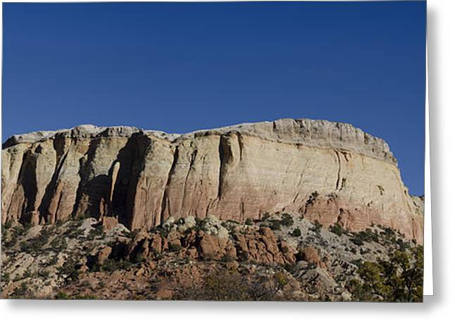Dave Greeting Cards - Abiquiu NM Panorama I Greeting Card by David Gordon