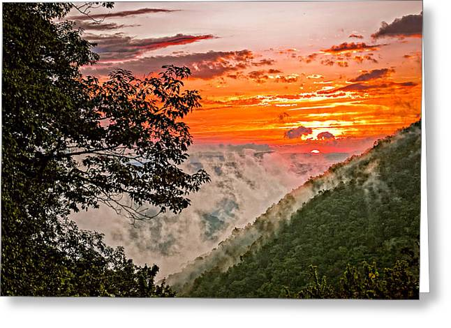Babcock Greeting Cards - Above the Clouds Greeting Card by Steve Harrington