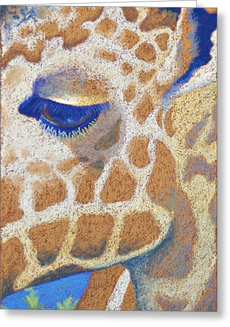 Horns Pastels Greeting Cards - Above the Treetops II Greeting Card by Tracy L Teeter