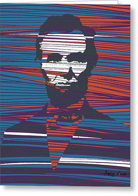 Most Paintings Greeting Cards - Abraham Lincoln 1 Greeting Card by Artist  Singh