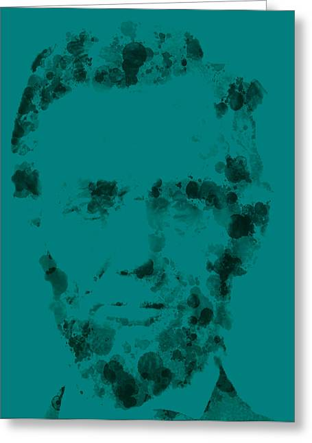 Slavery Greeting Cards - Abraham Lincoln 3 Greeting Card by Brian Reaves