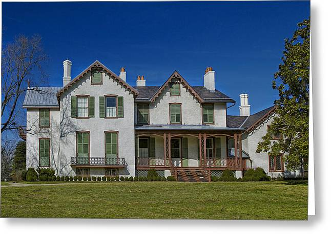 Historic Home Greeting Cards - Abraham Lincolns Summer Cottage Greeting Card by Mountain Dreams