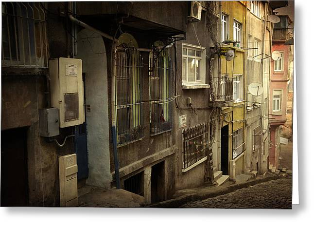 Old City Prints Greeting Cards - Absence 16.37 Greeting Card by Taylan Soyturk