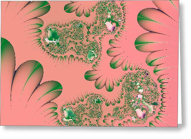 Absolutely Hot Pink Greeting Card by Linda Phelps