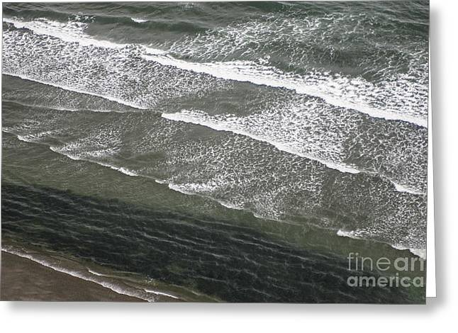 Agate Beach Greeting Cards - Absolution Greeting Card by Sandi Mikuse