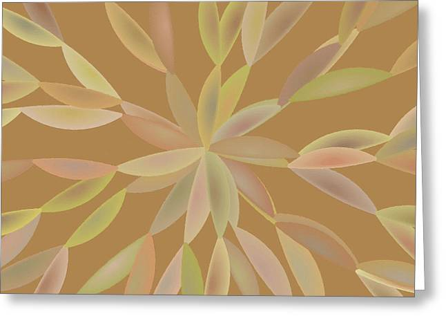 Spectrum Paintings Greeting Cards - Abstract 024 Greeting Card by Victor Gladkiy