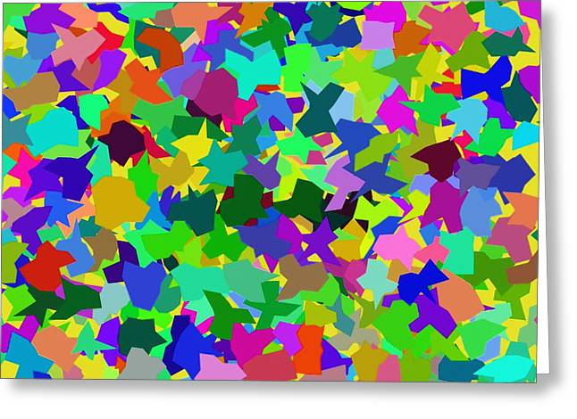 Abstraction Greeting Cards - Abstract 047 Greeting Card by Victor Gladkiy