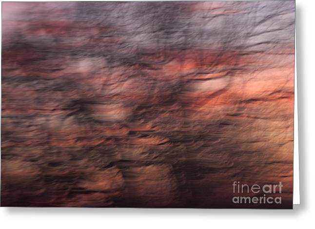 Abstract 10 Greeting Card by Tony Cordoza