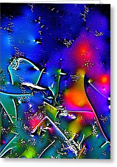 Abstract 12 Greeting Card by Pamela Cooper