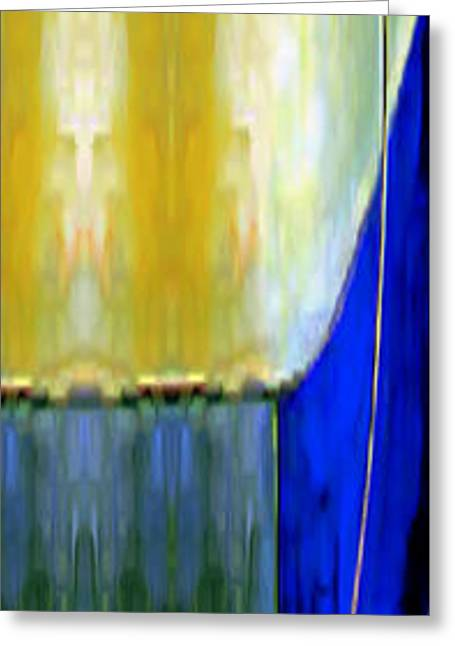 Shower Curtain Greeting Cards - Abstract 12 Greeting Card by Rafael Salazar
